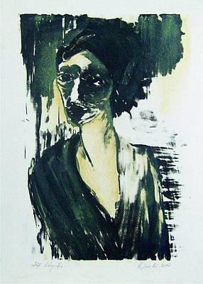 Stone Woman Art Print by Nesli Sisli