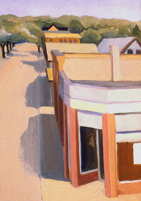 Painting - Stoneham Square Three 1979 by Nancy Griswold