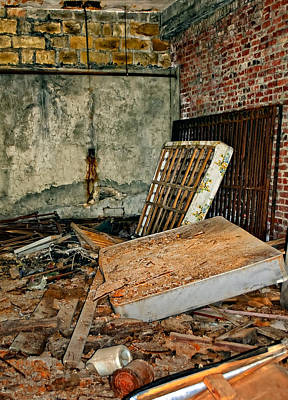 The Economy Photograph - Stonehaven Rehab by Steve Harrington