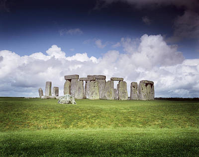 Megalith Photograph - Stonehenge by Chris Madeley