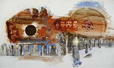 Painting - Stonehenge by Cliff Spohn