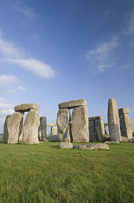 Feild Photograph - Stonehenge by Gloria & Richard Maschmeyer