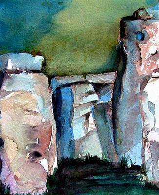 Stonehenge Art Print by Mindy Newman