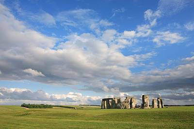 Megalith Photograph - Stonehenge, Wiltshire, England by Rich Thompson