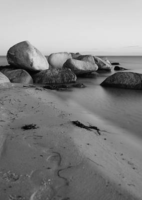 Stein Photograph - Stones In The Sea 3 by Falko Follert