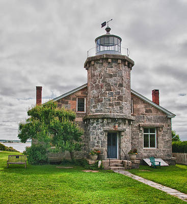 Photograph - Stonington Lighthouse Museum by Guy Whiteley