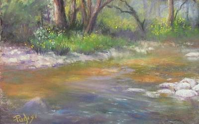 Pastel - Stony Creek by Bill Puglisi