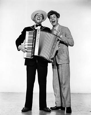 1952 Movies Photograph - Stooge, Dean Martin, Jerry Lewis, 1952 by Everett