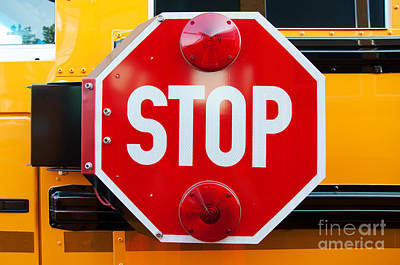 Photograph - Stop by Andee Design