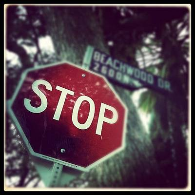 Hollywood Wall Art - Photograph - Stop by Torgeir Ensrud