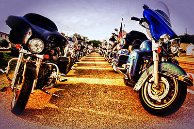 Photograph - Stopping By Harley Davidson by Kelly Reber