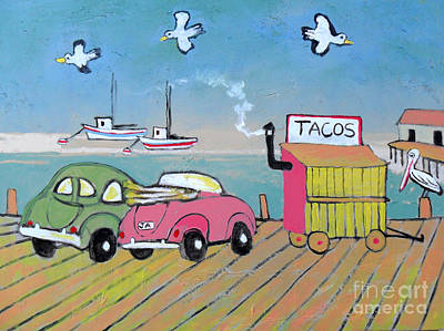 Stopping For Tacos Original by Jon Adams