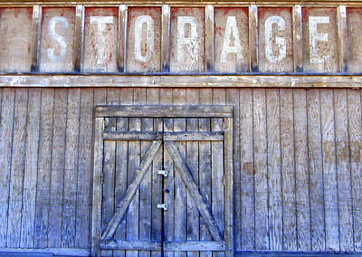 Storage - Architectural Photography Art Print by Karyn Robinson