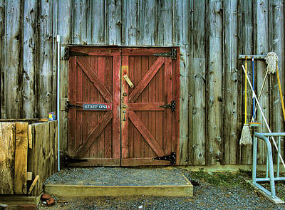 Storage Shed Art Print by Steven Ainsworth