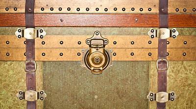 Photograph - Storage Trunk by Tom Gowanlock