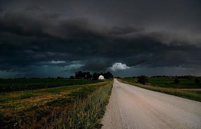 Storm Ahead Art Print by Rick Rauzi