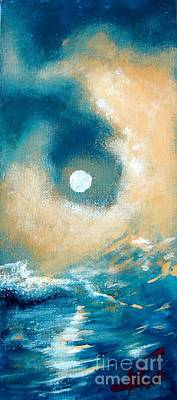 Art Print featuring the painting Storm by Ana Maria Edulescu