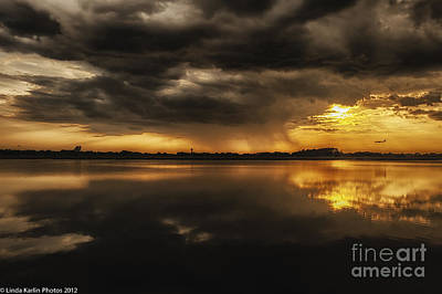 Art Print featuring the photograph Storm Approaching by Linda Karlin