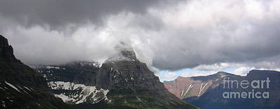 Photograph - Storm At Logan Pass by Lani PVG   Richmond
