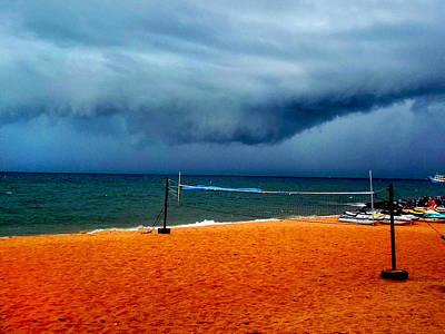 Photograph - Storm Beach by Paul Rainwater