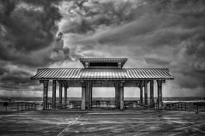 Coney Island Photograph - Storm Before The Calm by Evelina Kremsdorf