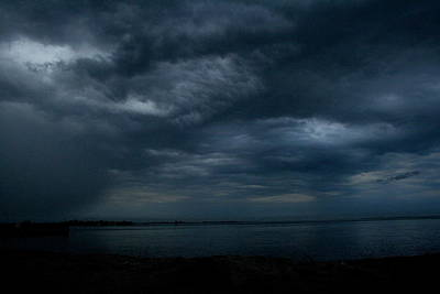 Photograph - Storm Blows Over Captree And Great South Bay by Christopher Kirby