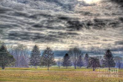 Photograph - Storm Brewing Over Park by Jeremy Lankford