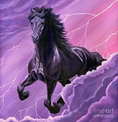 Storm Chaser Art Print by Sheri Gordon