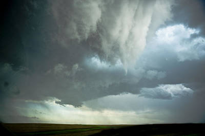 Storms Photograph - Storm Cloud Pointing by Jennifer Brindley