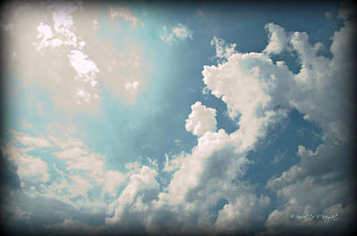 Photograph - Storm Clouds - 1 by Paulette B Wright