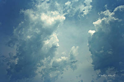 Photograph - Storm Clouds - 3 by Paulette B Wright