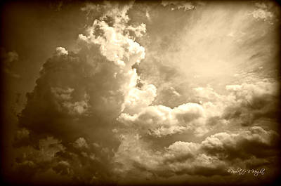 Photograph - Storm Clouds - 5 by Paulette B Wright
