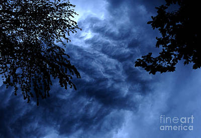 Abstract Movement Photograph - Storm Clouds by HD Connelly