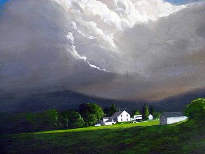 Painting - Storm Clouds by Milan Melicharek
