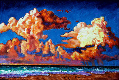 Painting - Storm Clouds Over Florida by John Lautermilch