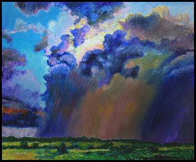 Storm Clouds Over Missouri Art Print by John Lautermilch