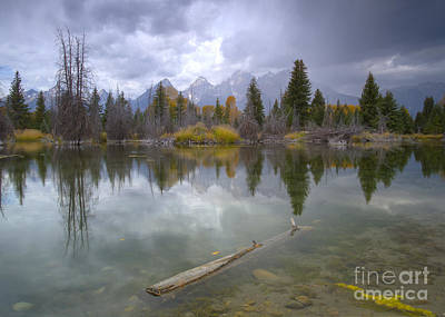 Photograph - Storm In The Tetons by Idaho Scenic Images Linda Lantzy