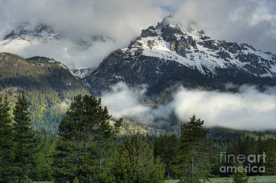 Photograph - Storm  In The Tetons by Sandra Bronstein