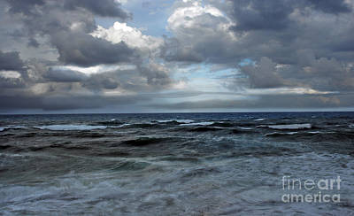 Photograph - Storm Off Coral Cove Beach by Richard Nickson
