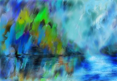 Digital Art - Storm On Krypton by Parag Pendharkar