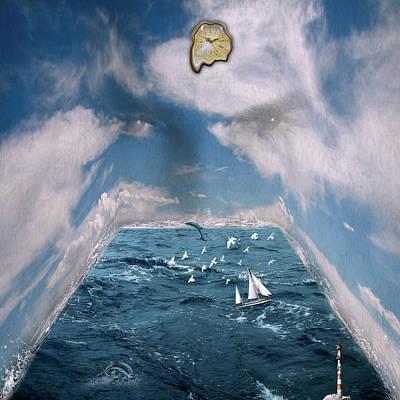 Storm Room  Art Print by Mark Ashkenazi