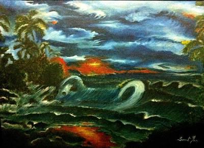 Storm Art Print by Sumit Jain