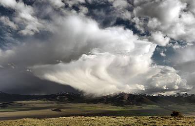 Photograph - Storm Texture by Leland D Howard