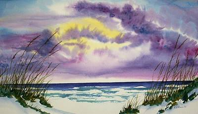Painting - Storm Warning by Richard Willows
