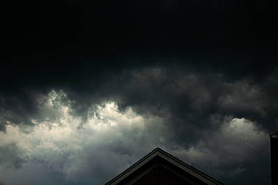 Light Photograph - Storm Warning Severe Weather by LeeAnn McLaneGoetz McLaneGoetzStudioLLCcom