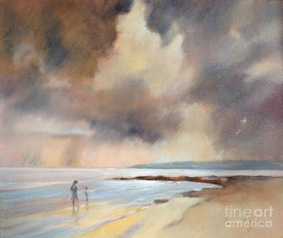 Painting - Storm Watchers by Pamela Pretty