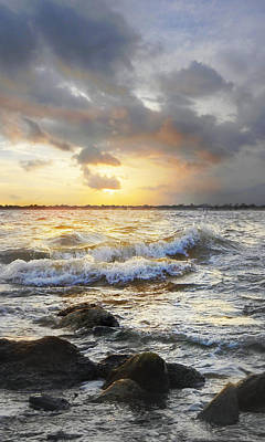 Photograph - Storm Waves by Francesa Miller