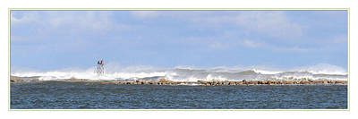 Storm Waves Off Scituate  Original by DN Twigg