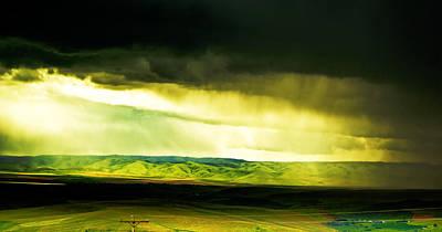 Storm Window Art Print by Dale Stillman