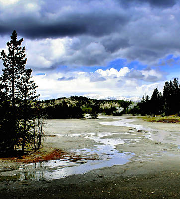 Photograph - Stormclouds Over Norris Basin by Ellen Heaverlo